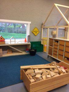 Verbouwing inrichting school